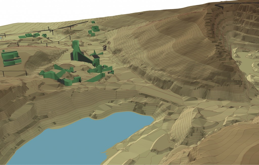 3D Surface Mapping from Remote Sensing